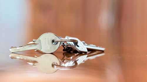 Afgebroken sleutel Tiel